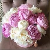 Коробка с любимыми цветами