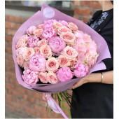 Розово-персиковое ассорти