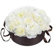 Любимый белый цвет пионов!